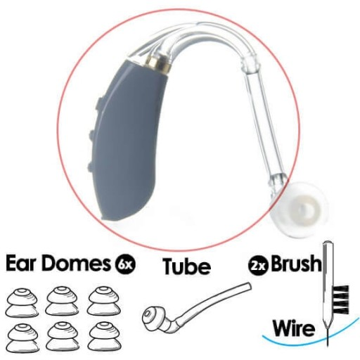 FIT® Accessory Replacement Value Kit - Traditional Ear Tube Configuration