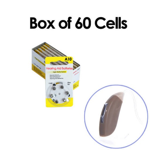 Hearing Aid Batteries for JOY® Hearing Aid