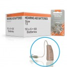 Hearing Aid Batteries for PRO® Hearing Aid - Size 13 (60 pcs)