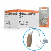 Hearing Aid Batteries for FIT® Hearing Aid - Size 13 (60 pcs)