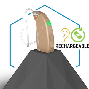 Advanced Rechargeable Hearing Aids